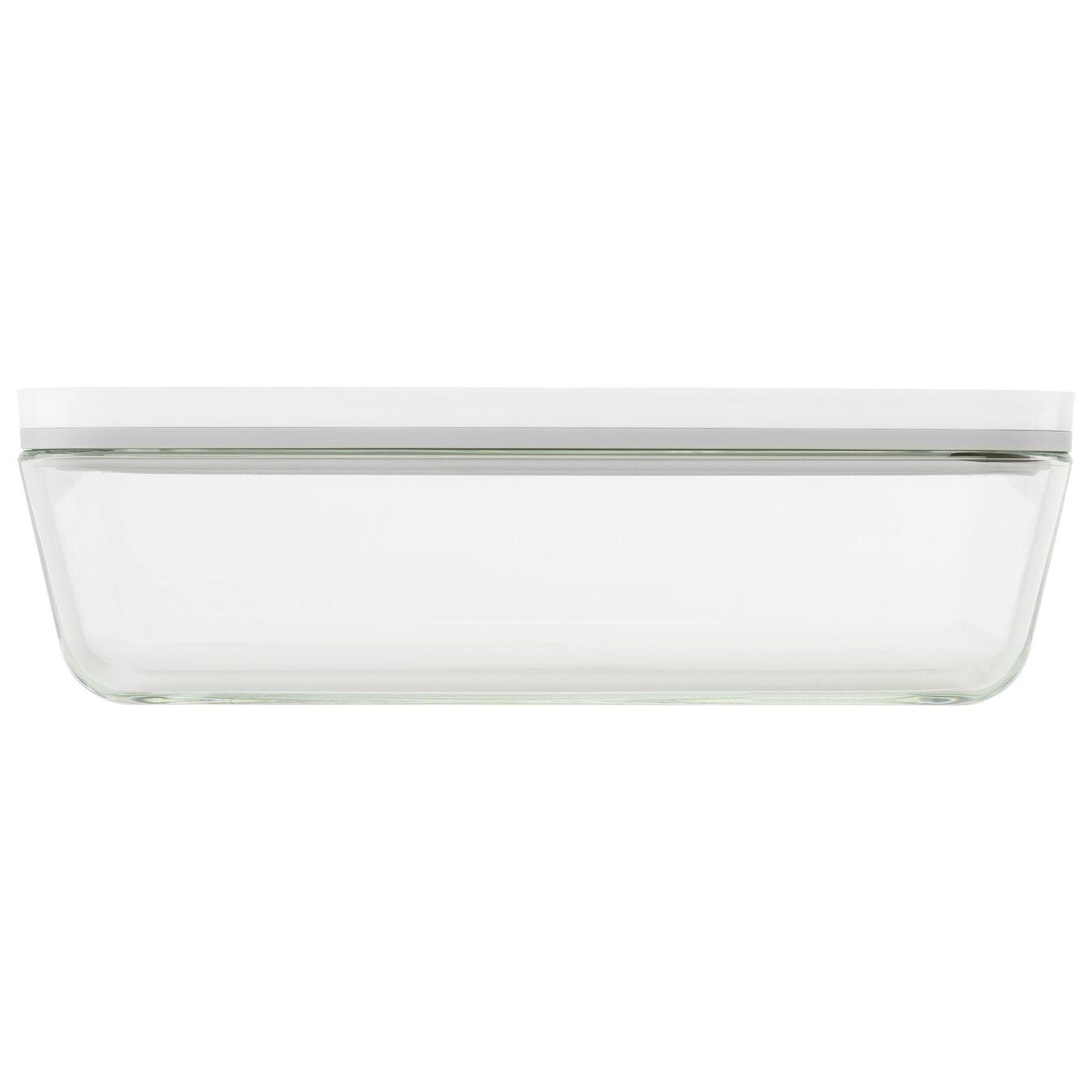 Vakuum Auflaufform, Borosilikatglas, Weiß,,large 3