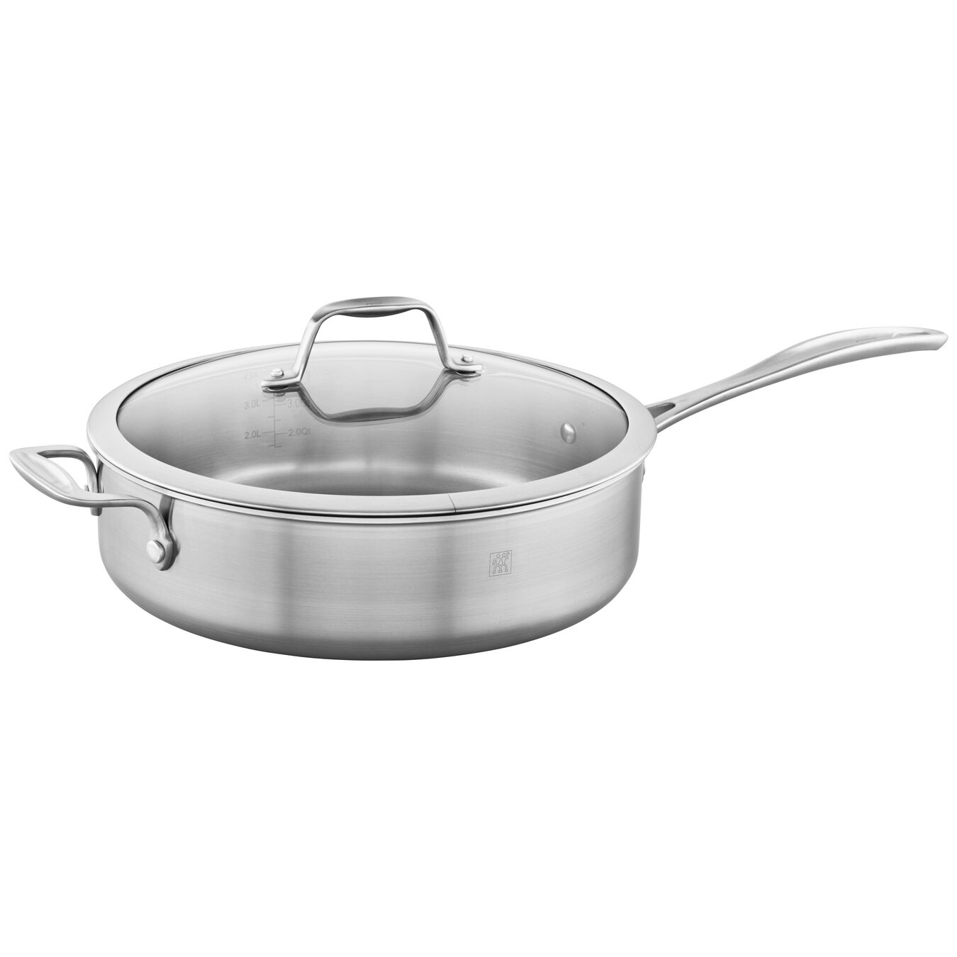 11-inch, stainless steel, Saute pan,,large 3