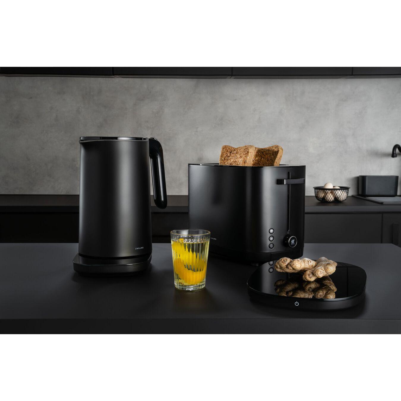 Toaster, 2 Schlitze kurz, Schwarz,,large 5