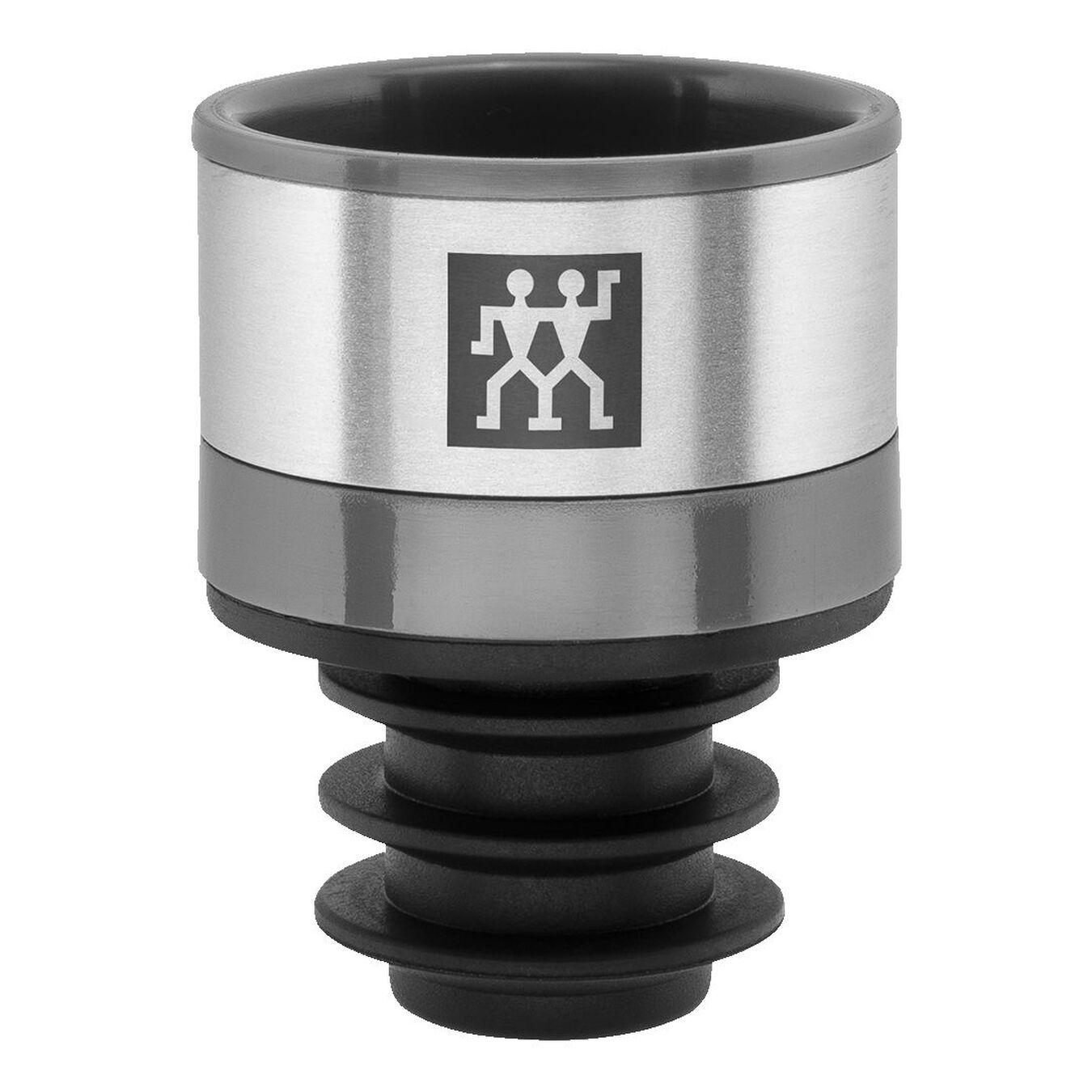 Vacuum wine sealer set, 3 Piece | Grey | Premium,,large 1