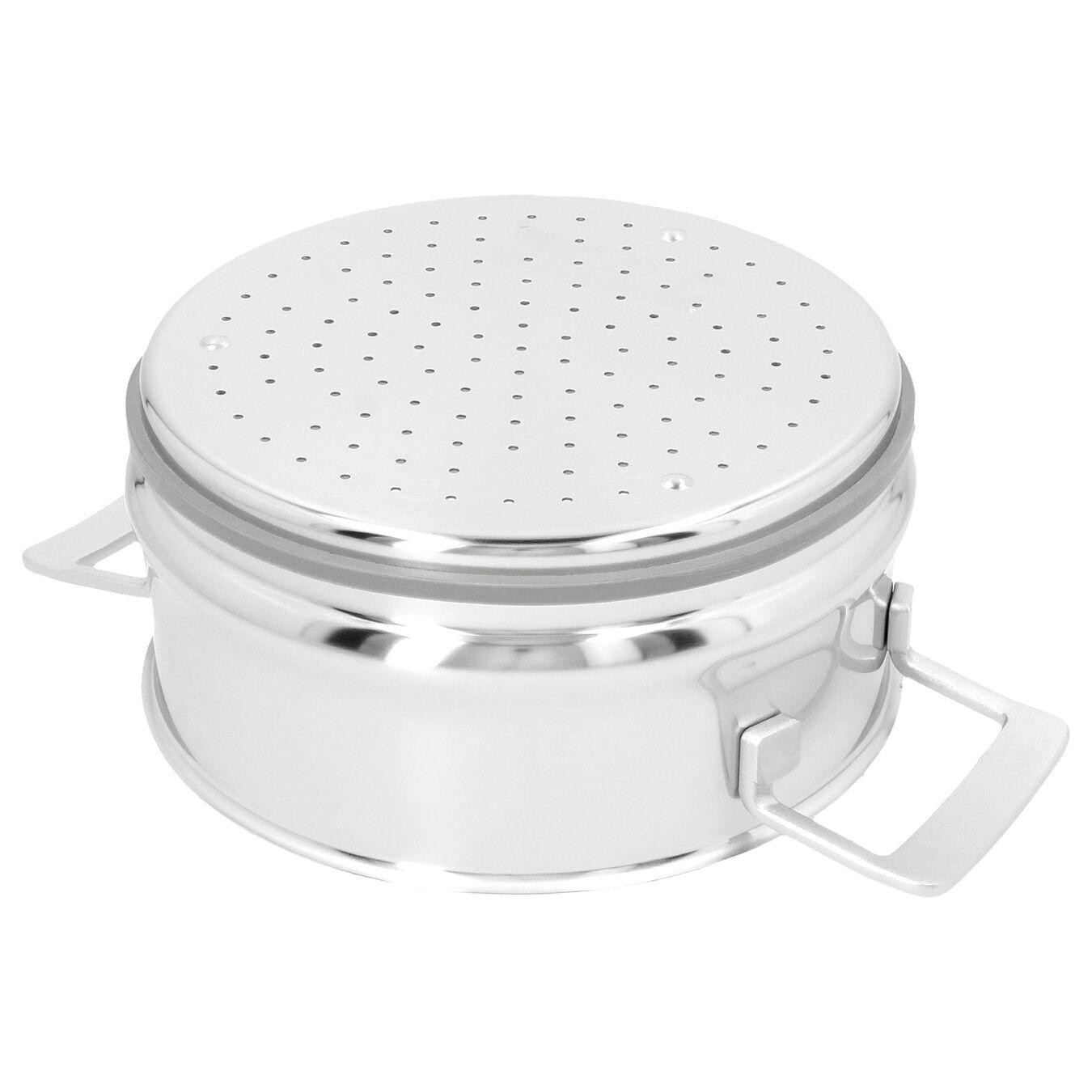Passoire pour cuit vapeur 24 cm, Inox 18/10,,large 2