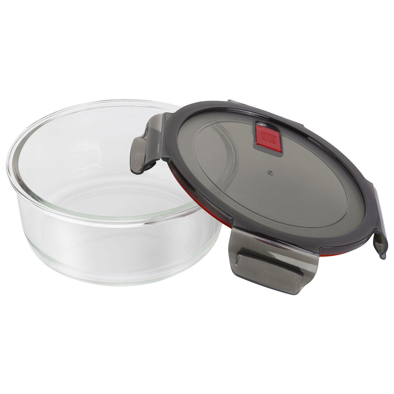 42.5 oz, borosilicate glass, round, Storage jar,,large 4