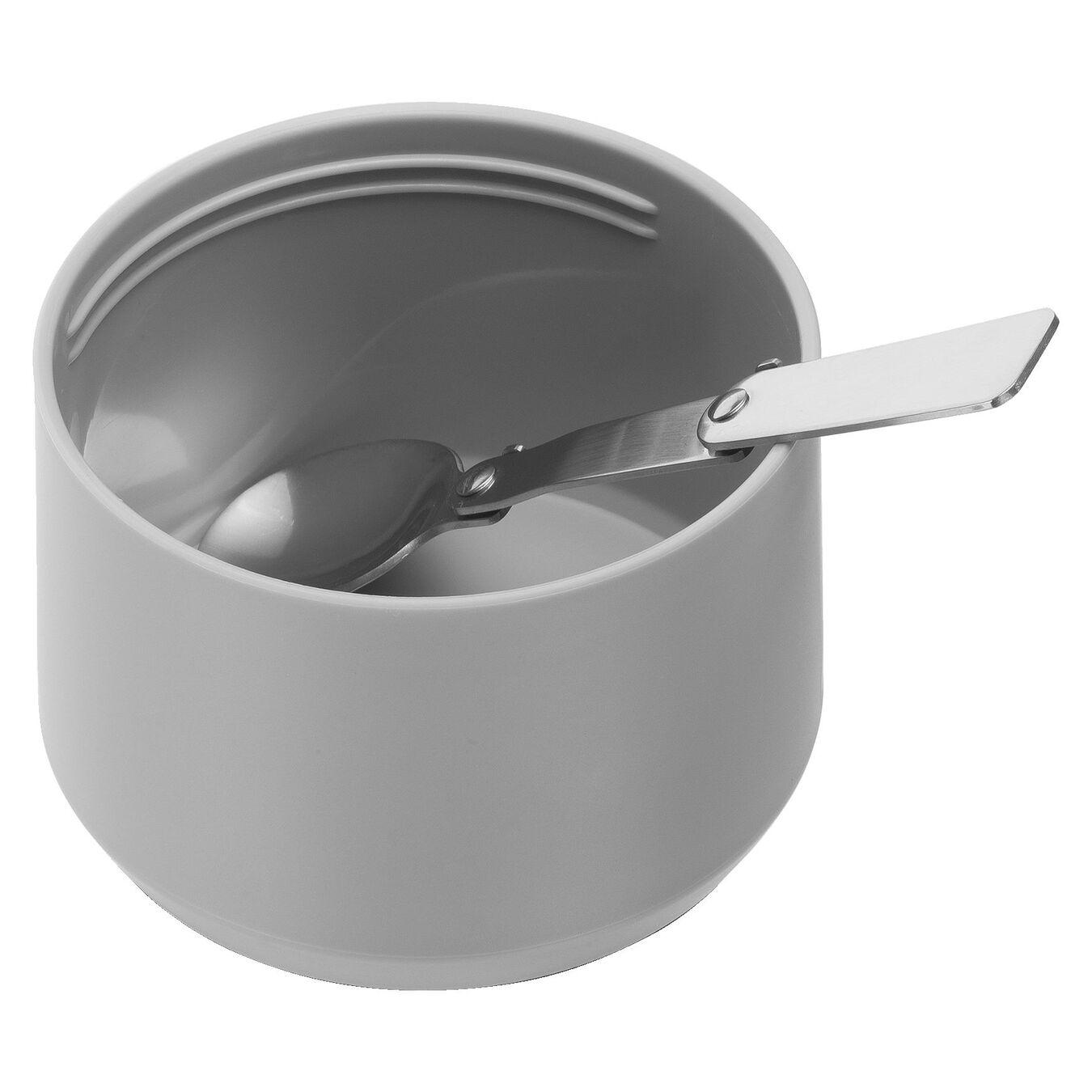 Recipiente alimentare - 700 ml, acciaio inox, bianco,,large 4
