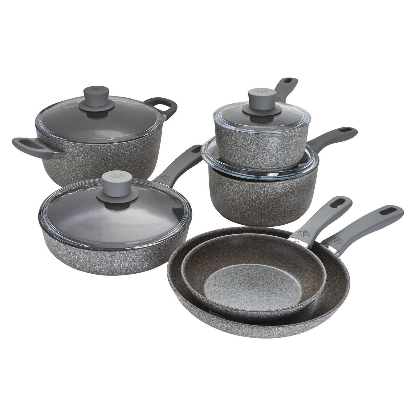 10-pc, Aluminum Nonstick Cookware Set,,large 1