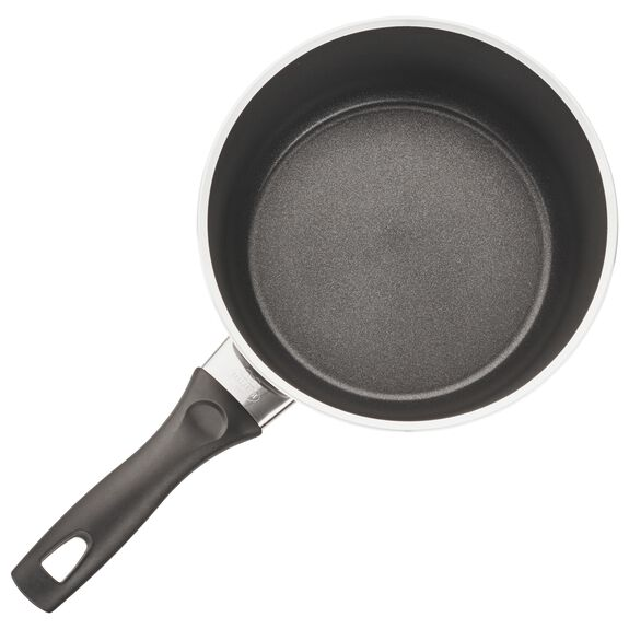 2.8-qt Forged Aluminum Nonstick Saucepan with Lid, , large 2