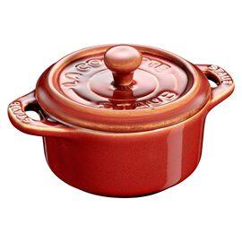 Staub Ceramique, Mini Cocotte 10 cm, rund, Antik-Kupfer, Keramik