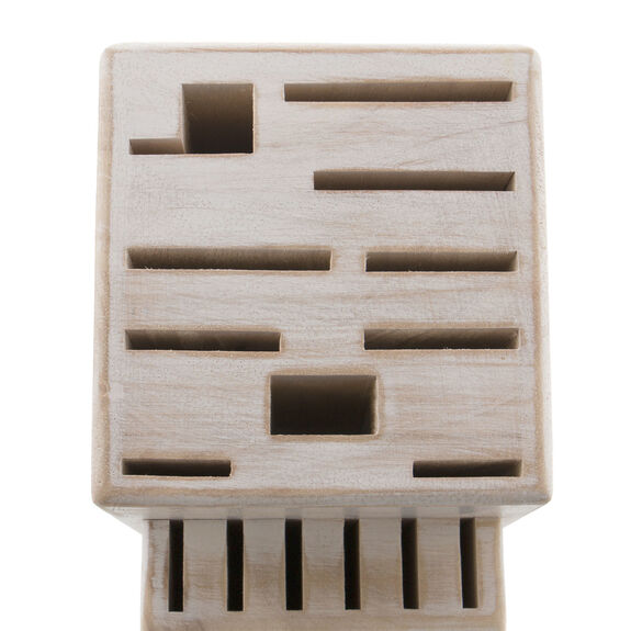 Rustic White 16-slot block,,large 3
