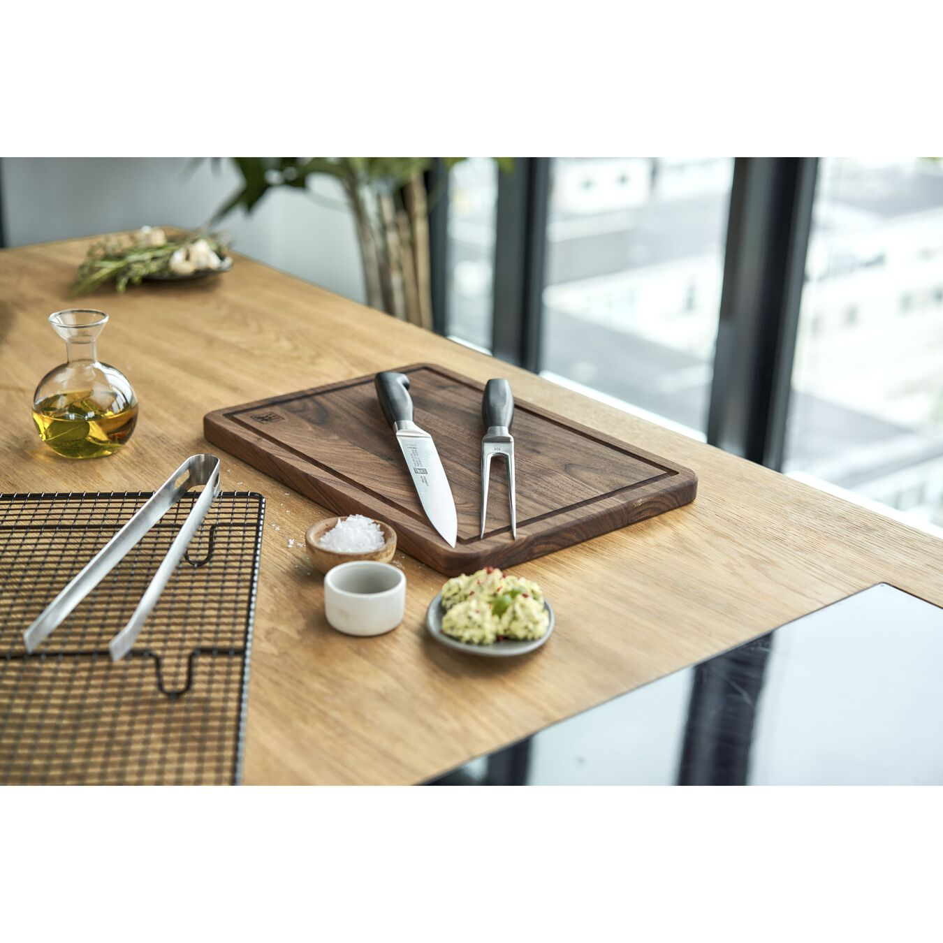 2-pc, Carving Knife & Fork Set,,large 6