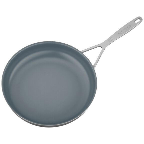 11-inch Stainless Steel Ceramic Nonstick Fry Pan,,large 4