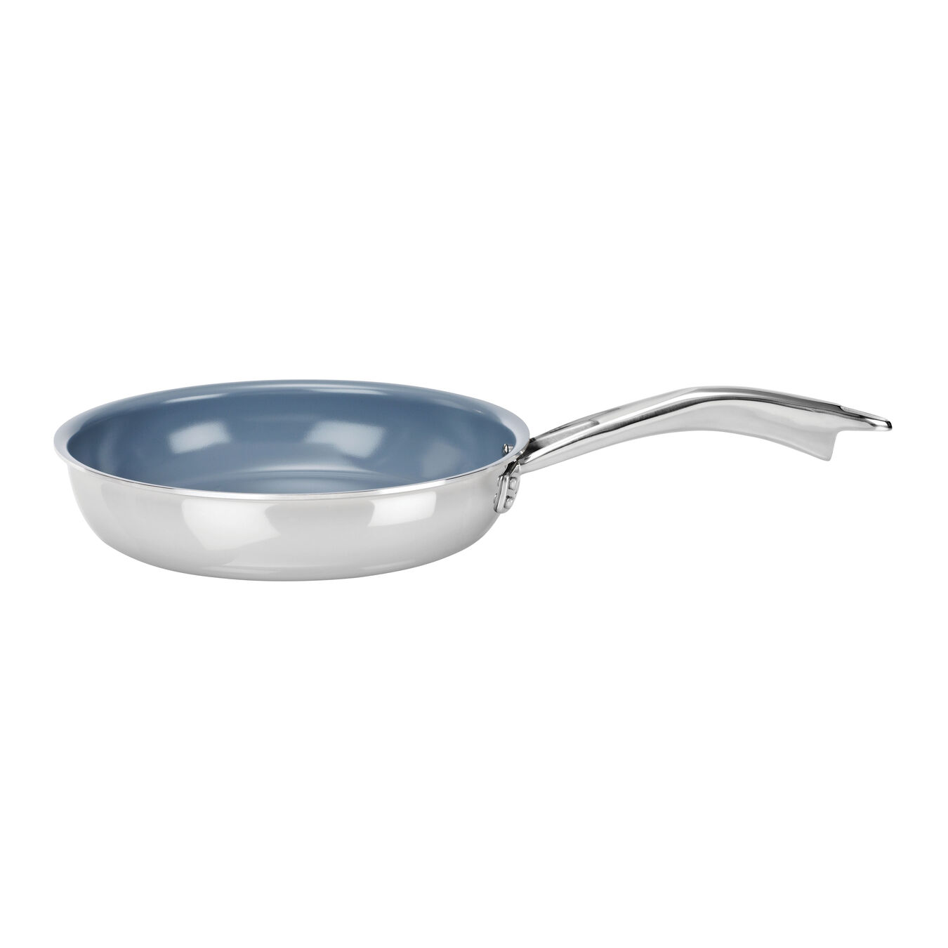20 cm / 8 inch 18/10 Stainless Steel ceramic non-stick frying pan,,large 1