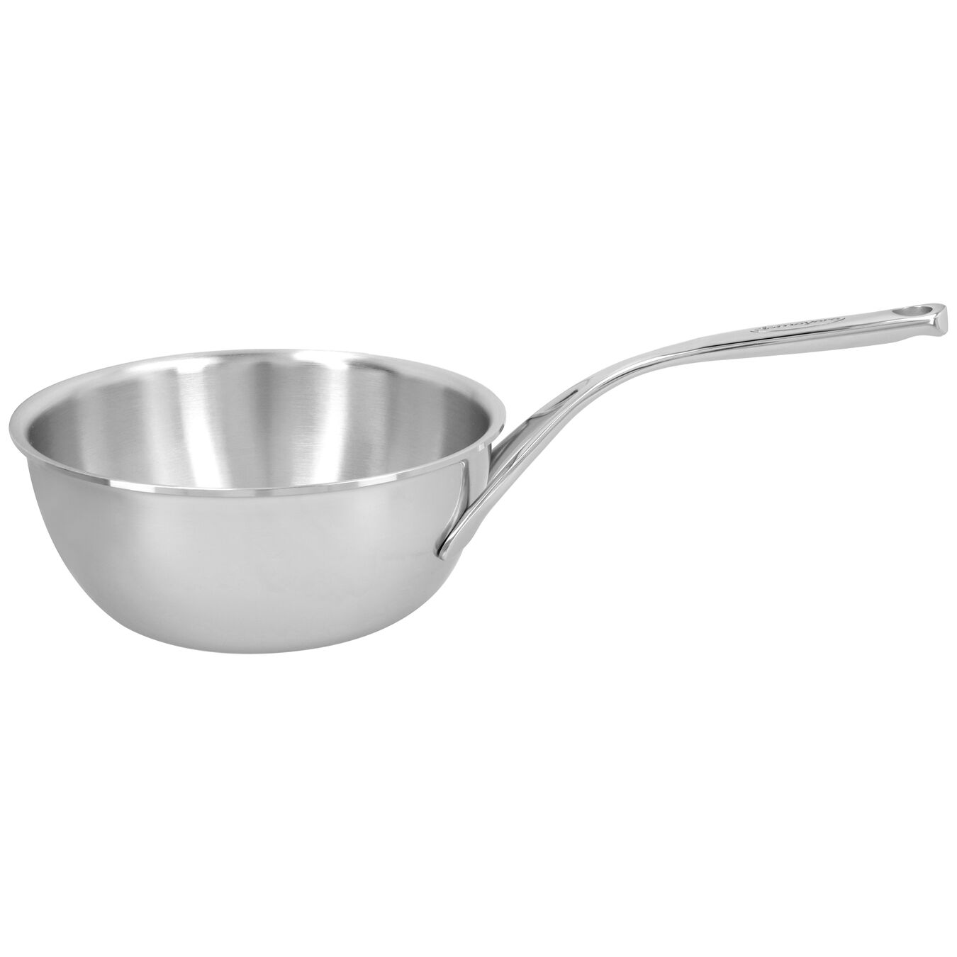Sauteuse conique 22 cm, Inox 18/10,,large 1