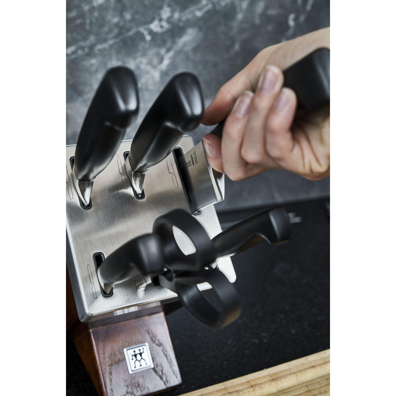 Bloc à couteaux avec technologie KiS, 7-pces, Frêne,,large 5