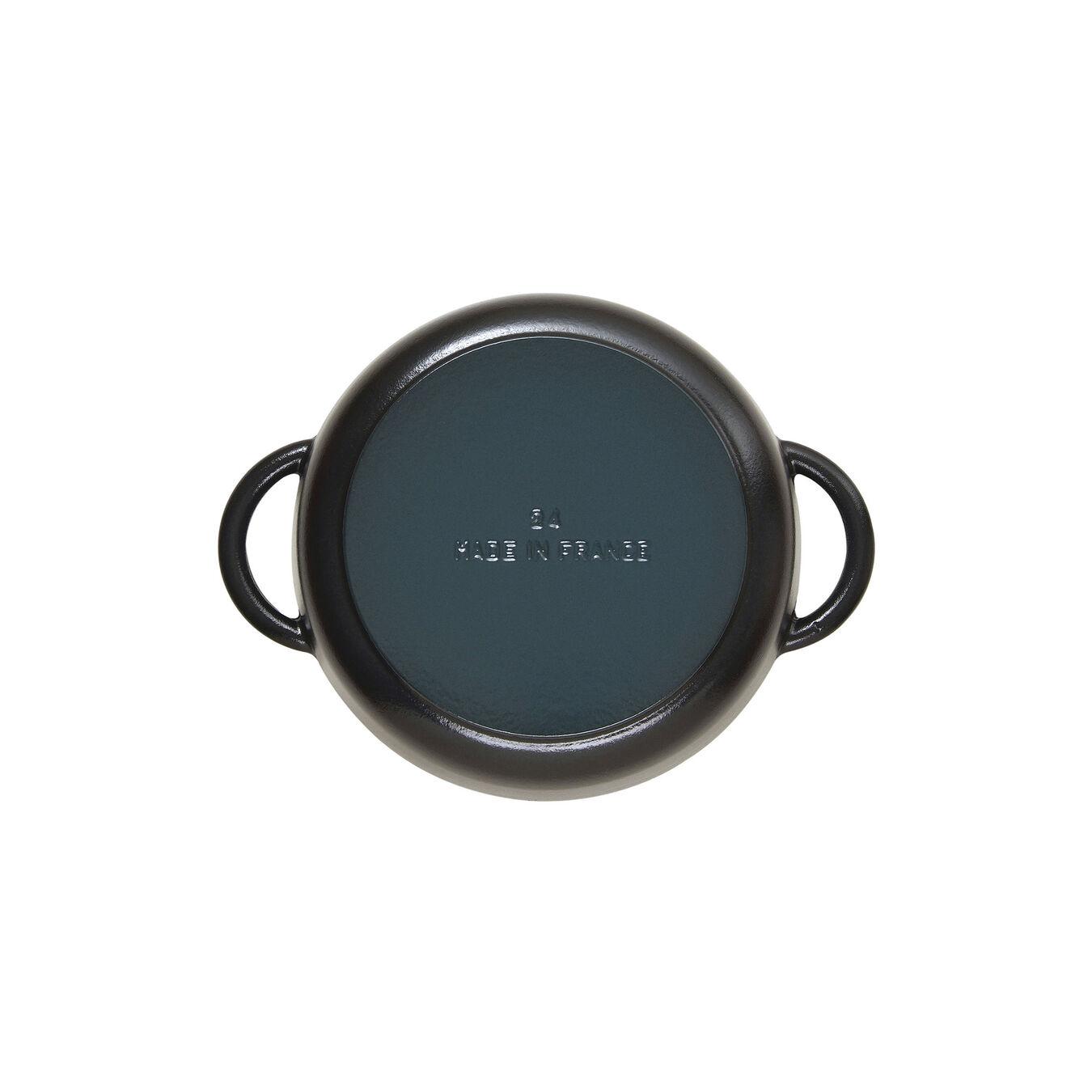 Sauteuse avec couvercle en verre 28 cm,,large 5