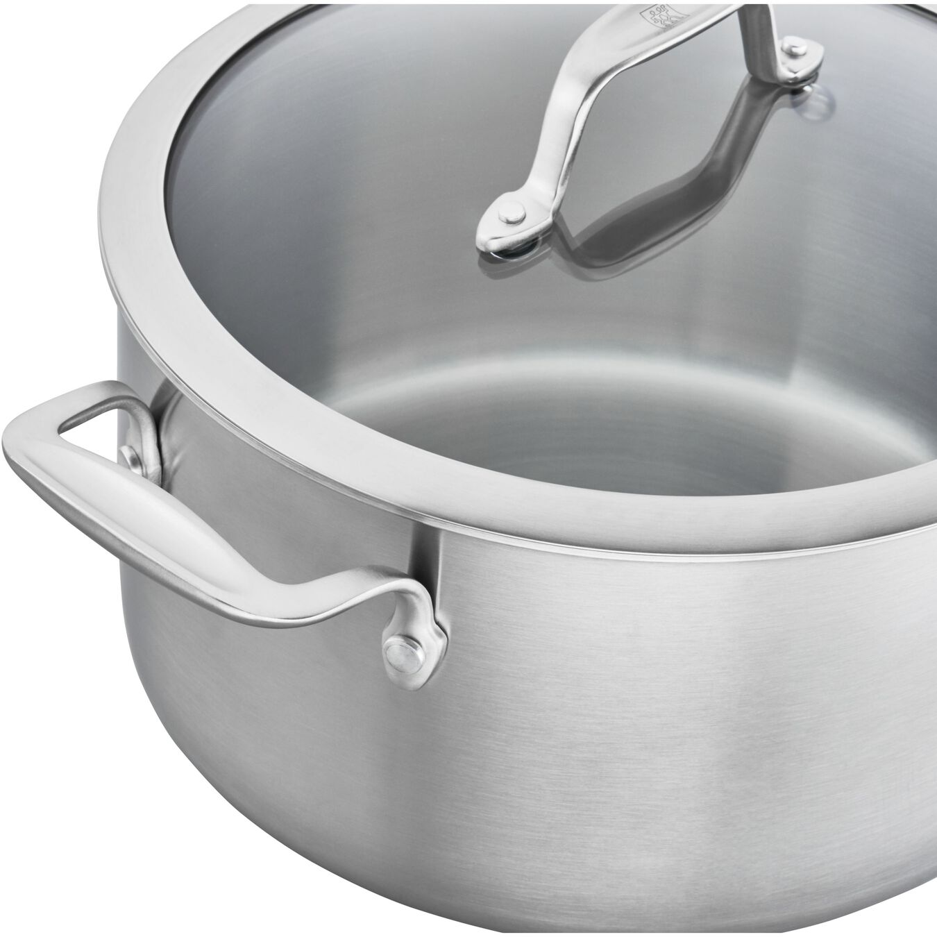 Ceramic, 10-pc, stainless steel, Cookware Set,,large 3