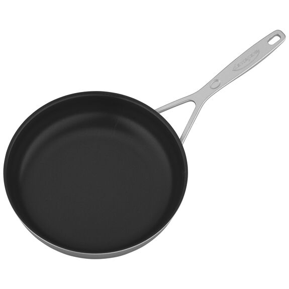 9.5-inch Stainless Steel Traditional Nonstick Fry Pan,,large 2