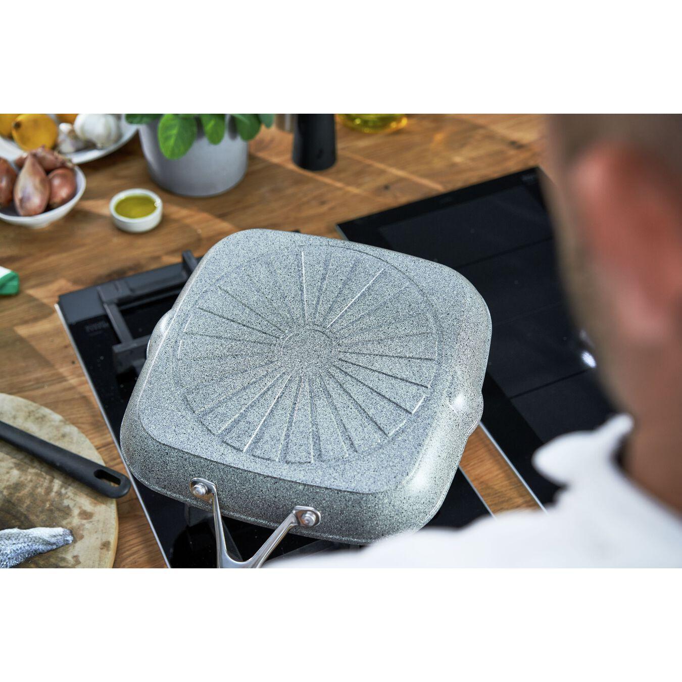 28 cm / 11 inch aluminium square Grill pan,,large 4