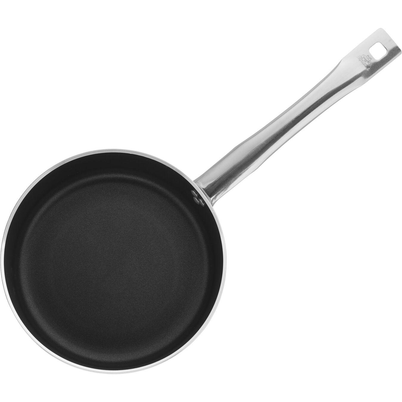 3.8-qt Aluminum Nonstick Low Saucepan Without Lid,,large 1