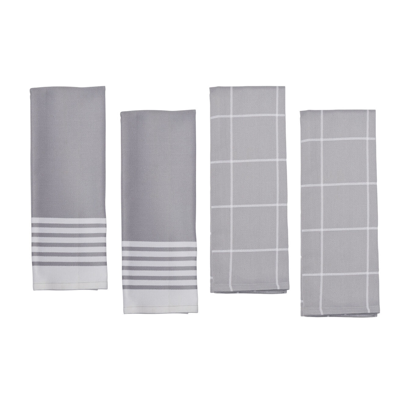 Kitchen Towels set, grey,,large 1