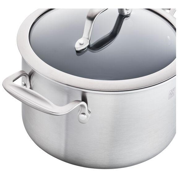 4-qt Ceramic Nonstick Saucepan, , large 3