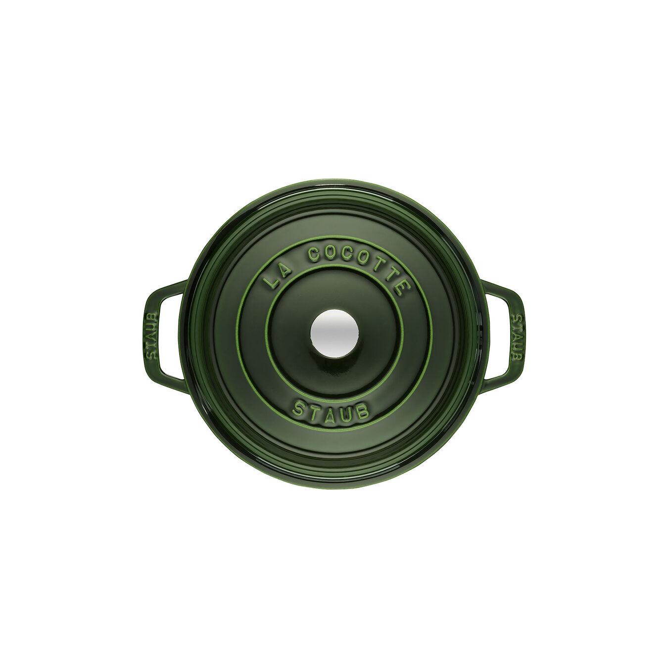Cocotte rotonda - 22 cm, basilico,,large 2