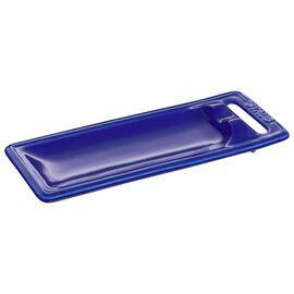 Staub Ceramique, 25 cm x 10 cm Ceramic Spoon rest, Dark-Blue