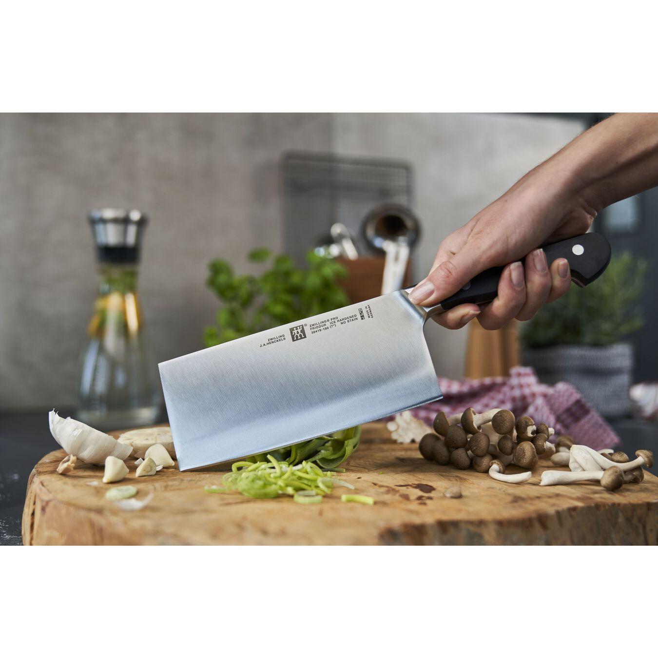 Çin Şef Bıçağı | Özel Formül Çelik | 18 cm,,large 3