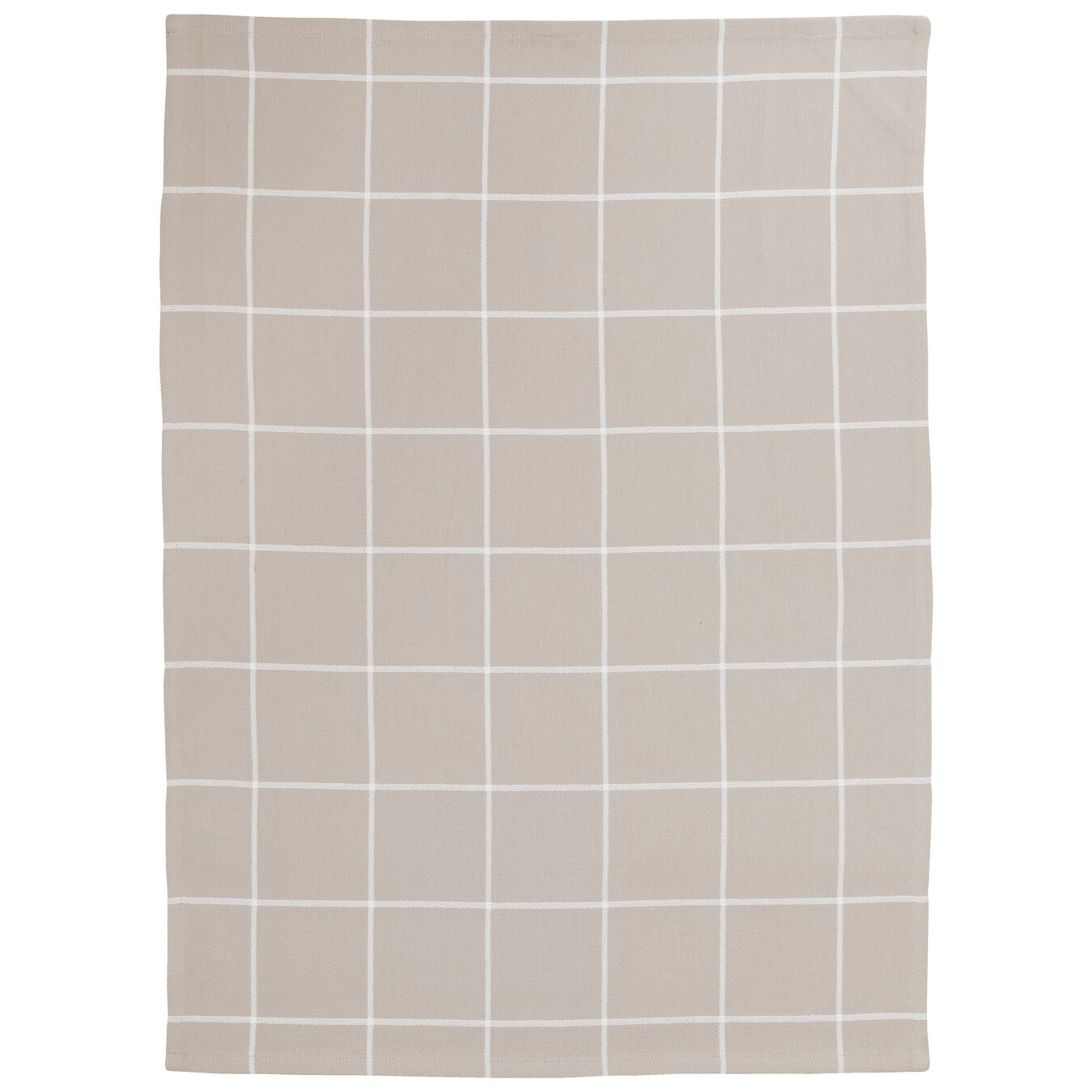 2 Piece Cotton Kitchen towel set checkered, taupe,,large 4