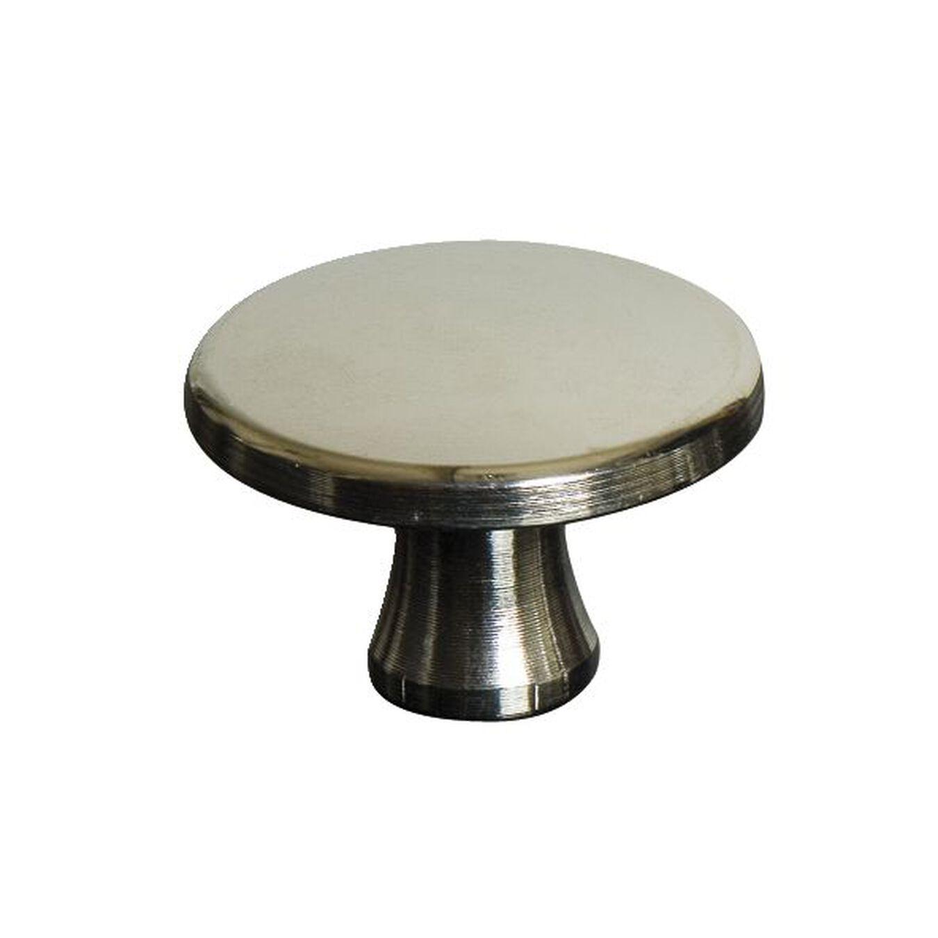 Nickelknauf klein 2 cm, Messing,,large 1
