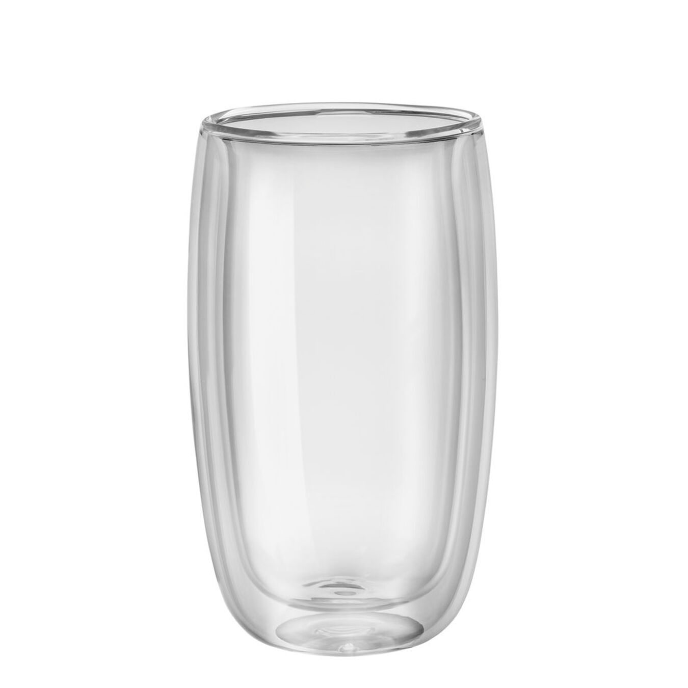2-pc Double-Wall Glass Latte Cup Set,,large 2