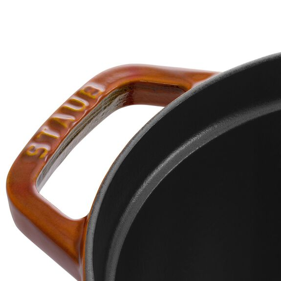 4.25-qt Coq au Vin Cocotte - Burnt Orange,,large 4