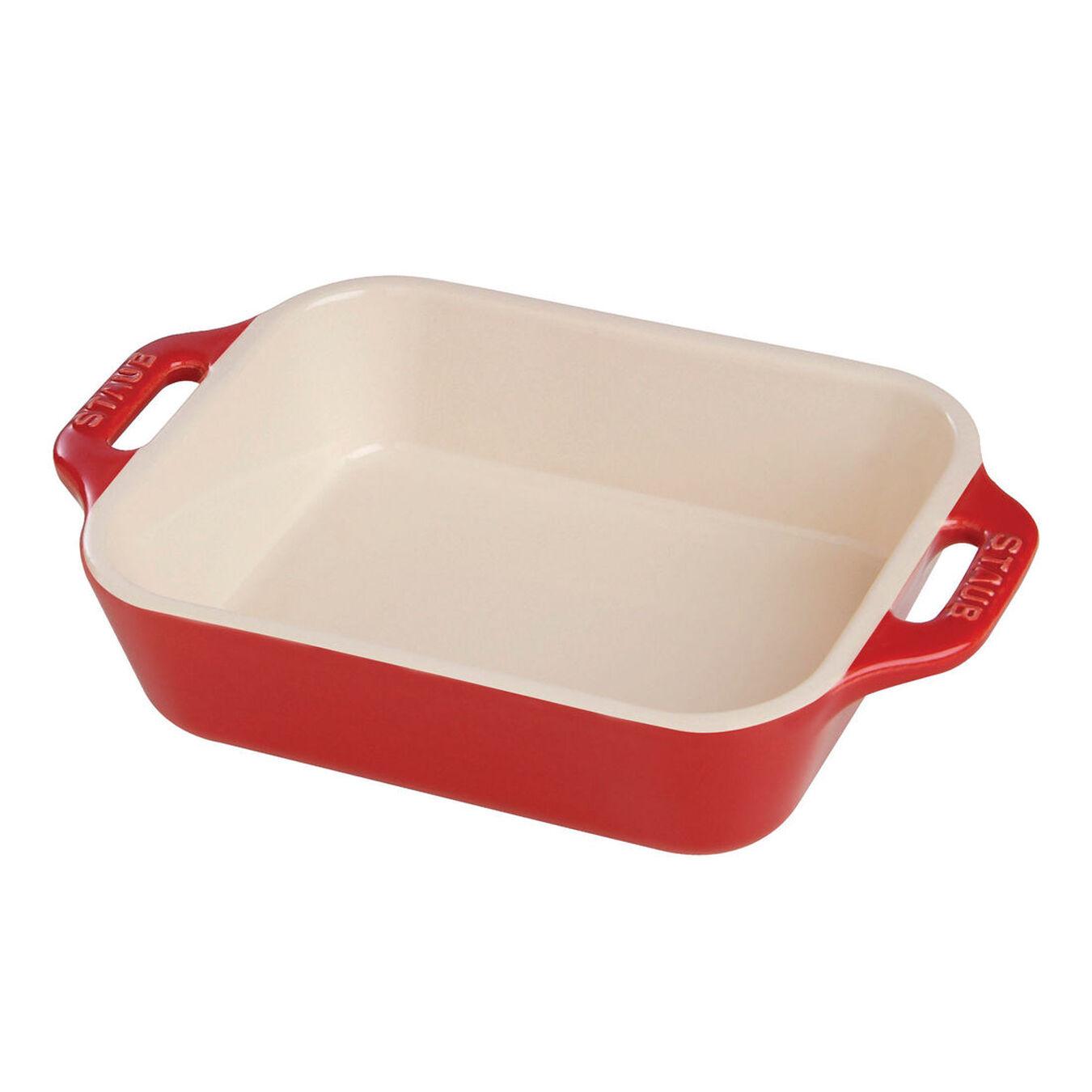 Ceramic rectangular Special shape bakeware, cherry,,large 1