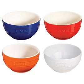 Staub Ceramique, 4-pcs Ceramic round Service de bols