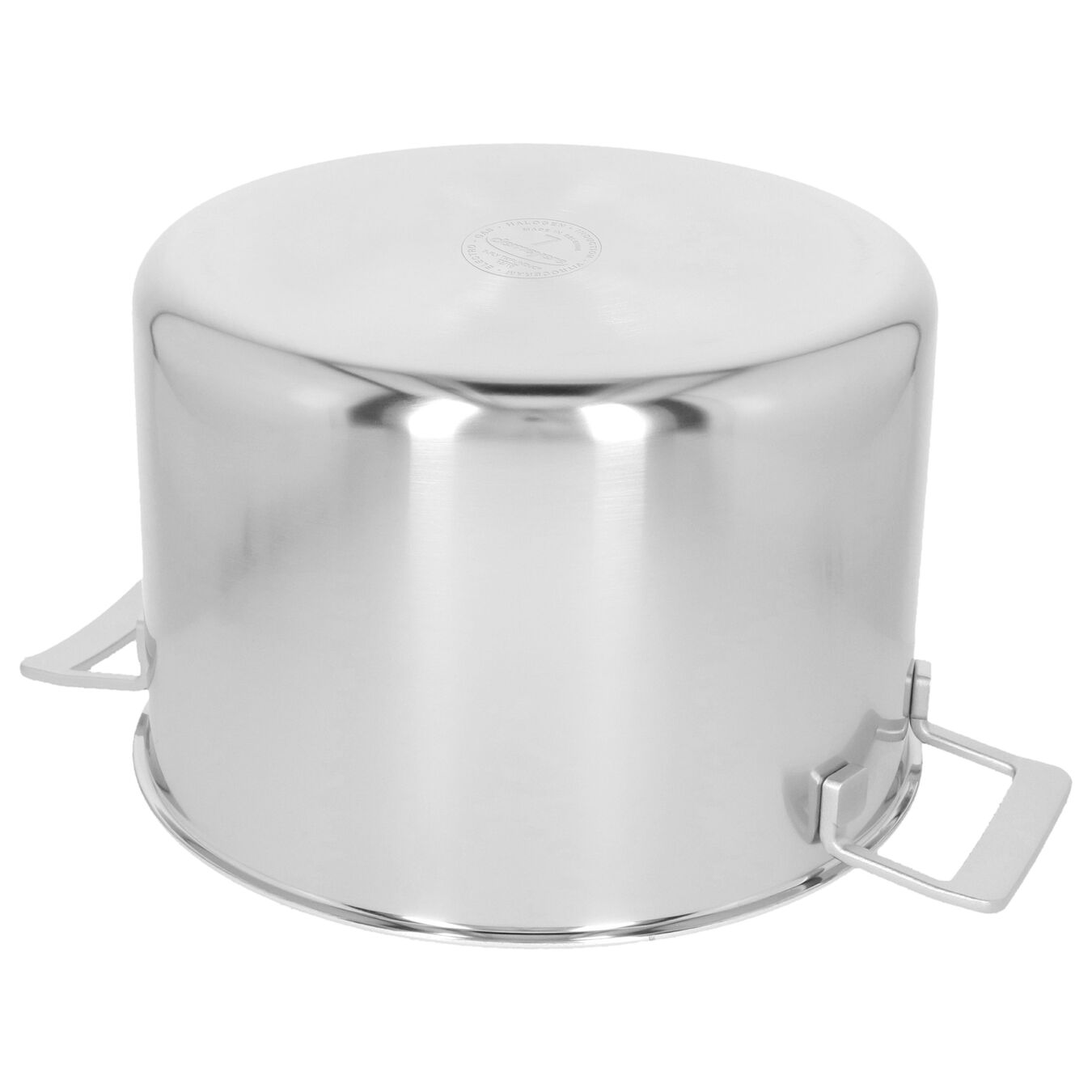 11.5 l 18/10 Stainless Steel Stock pot with lid,,large 4
