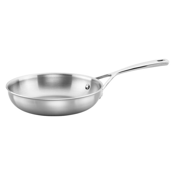 Stainless Steel 8-inch Fry Pan,,large