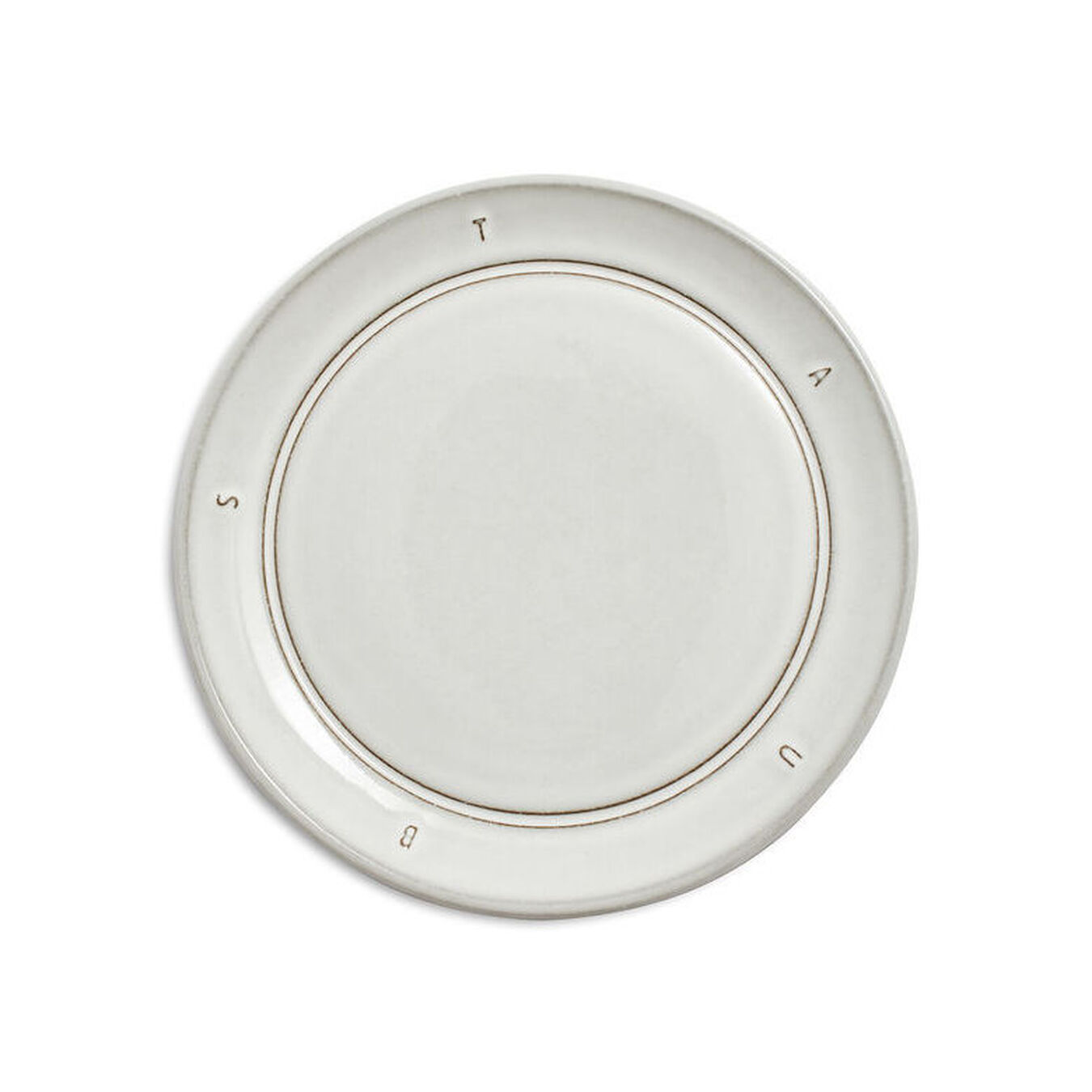 6-inch, Plate, off-white,,large 1