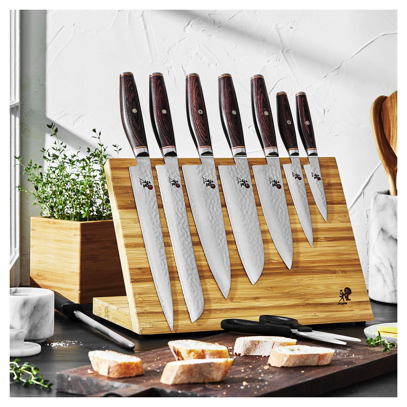 10-pc, Knife block set, natural,,large 13