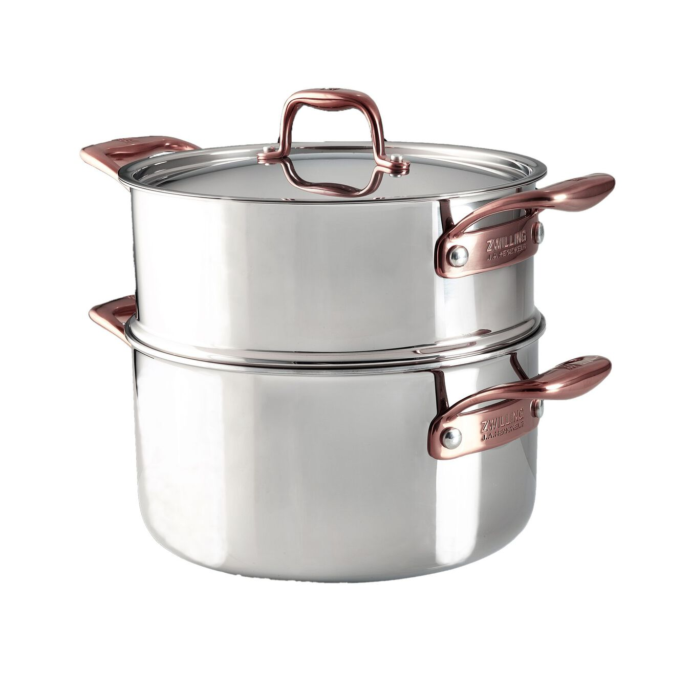 10-pcs 18/10 Stainless Steel Ensemble de casseroles et poêles,,large 7