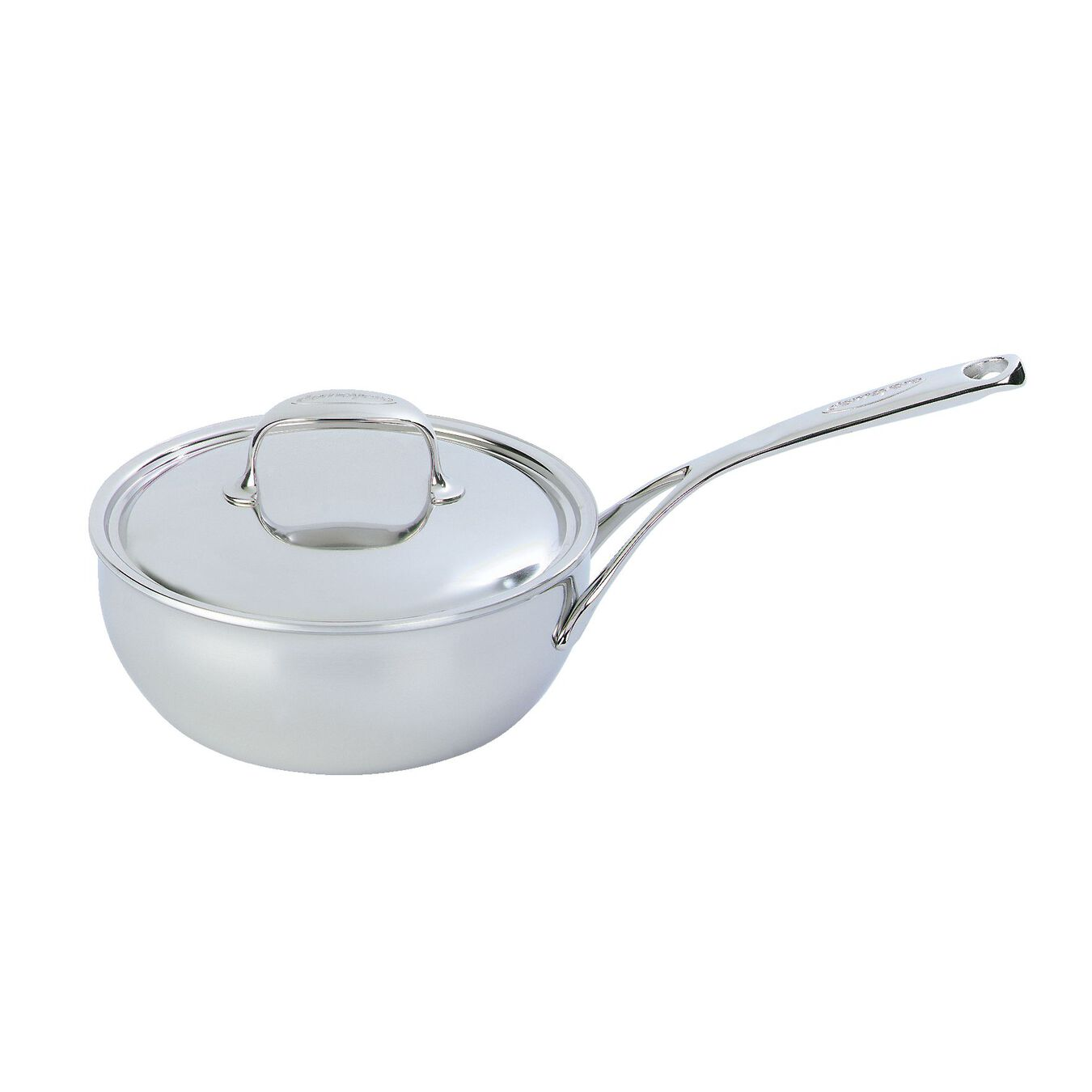 3.5 qt Sauteuse conical, 18/10 Stainless Steel ,,large 1