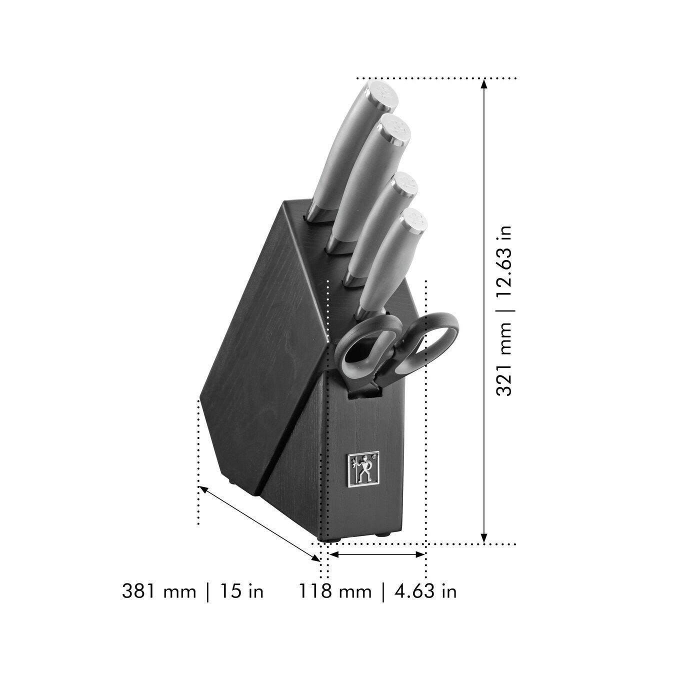 6 Piece Knife block set,,large 8