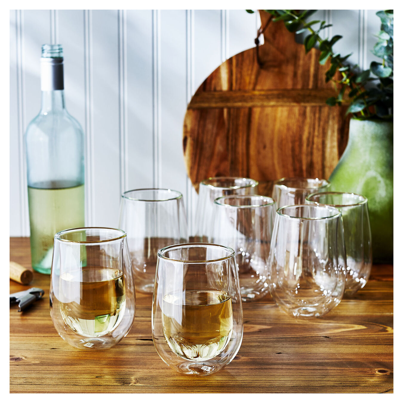 94807 / 1, Double wall glas Sommelier set,,large 3