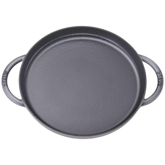 "12"" Chicken al Mattone Griddle & Press Set, Graphite Grey, , large 3"