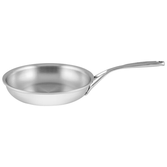 9.4-inch Stainless Steel Fry Pan,,large