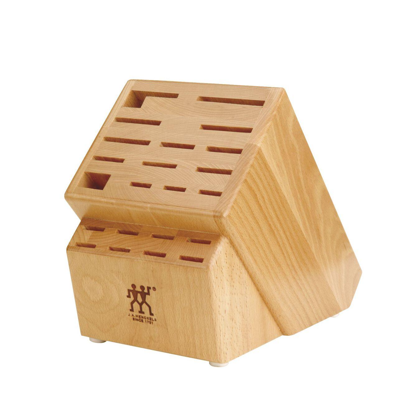 22-slot Hardwood Knife Block,,large 1