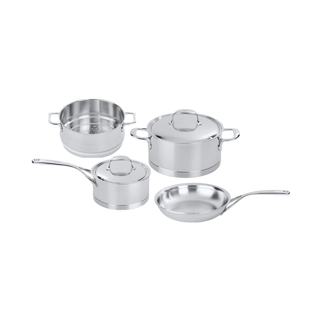 6-pc Stainless Steel Cookware Set,,large 1