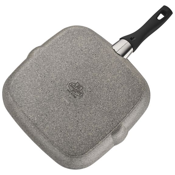 """11"""" Forged Aluminum Nonstick Grill Pan, , large 3"""