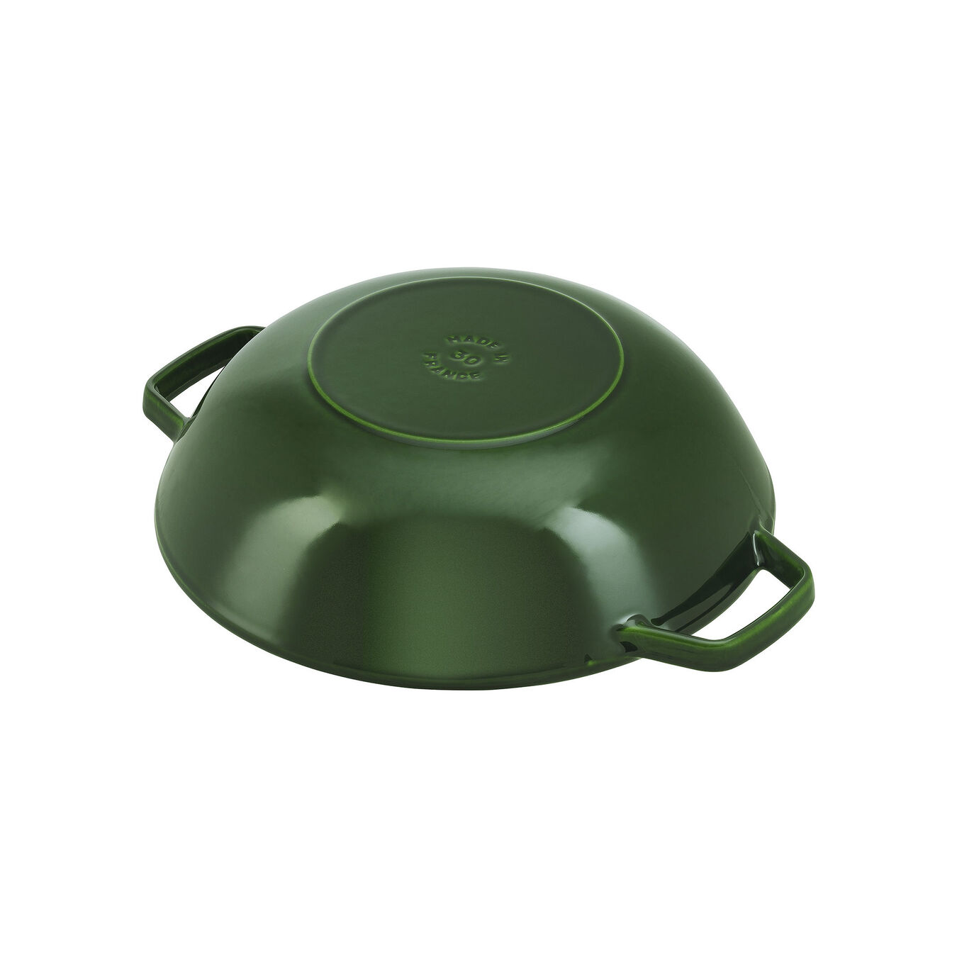 Wok with glass lid 30 cm,,large 4