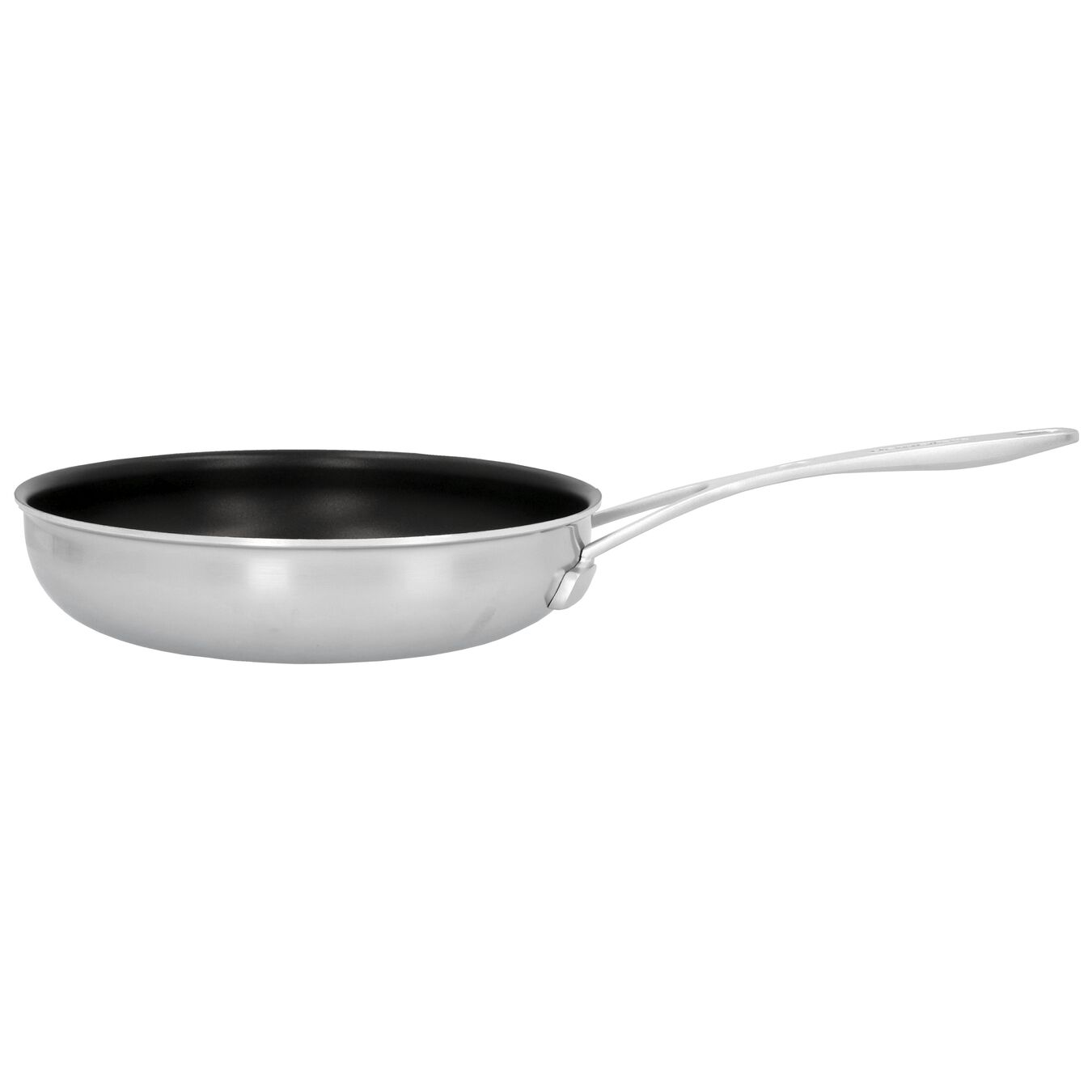 Stekpanna 24 cm, 18/10 Rostfritt stål, Silver-Svart,,large 1