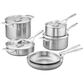 Demeyere Industry 5-Ply, 10-pc  Pots and pans set