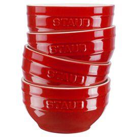 Staub Ceramique, Set di ciotole - 4-pz., ciliegia