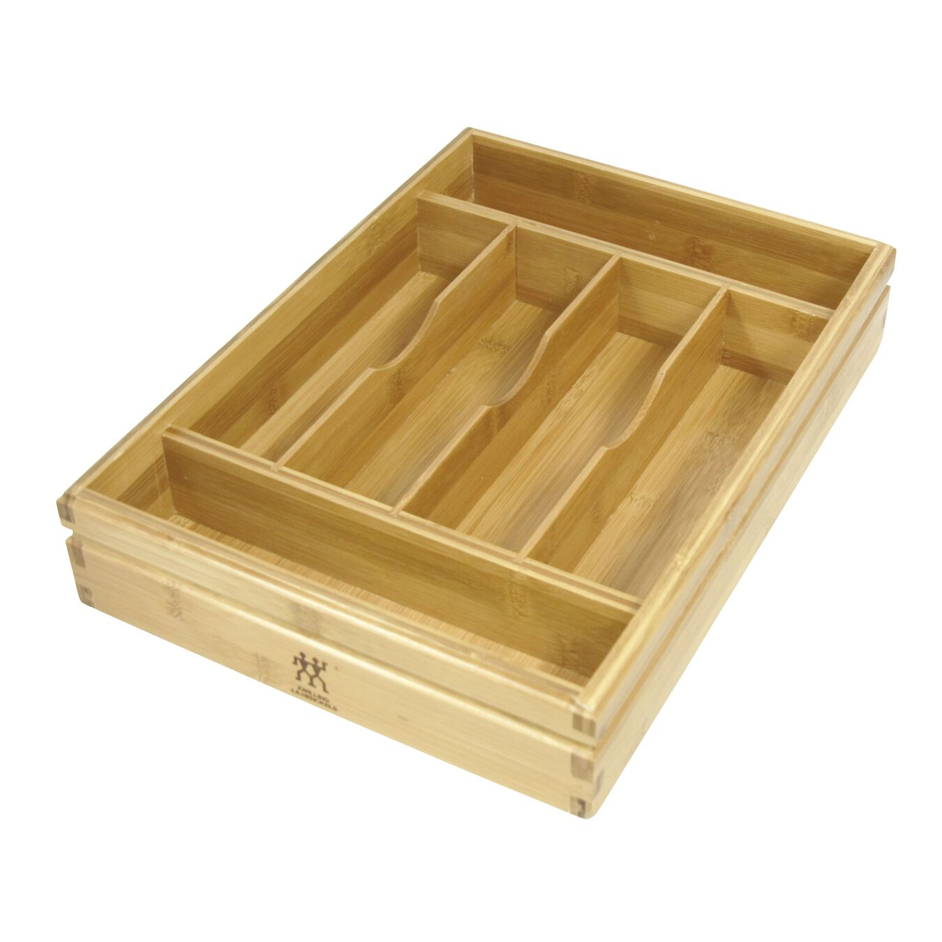 Bamboo Flatware Storage Tray,,large 1